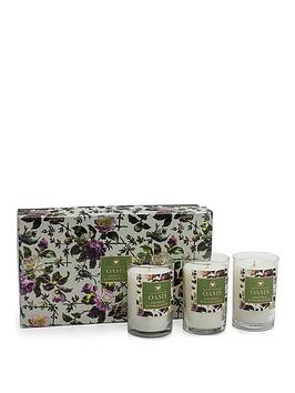 Oasis Home Oasis Home Renaissance Rose Gardenia And Sandalwood Set Of 3  ... Picture
