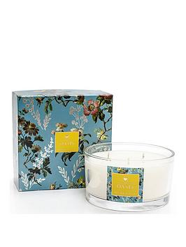 Oasis Home Oasis Home Leighton Freesia And Musk Boxed 3-Wick Candle Picture