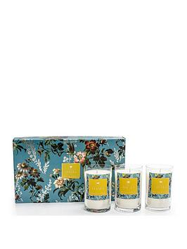 Oasis Home Oasis Home  Leighton Freesia And Musk 3 Candle Gift Set Picture