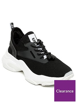 steve-madden-match-trainers-black