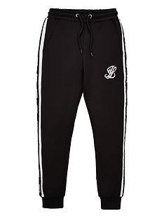 illusive-london-boys-taped-jog-pants-black