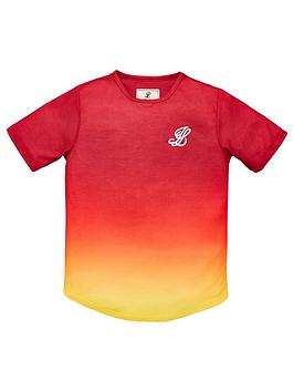 illusive-london-boys-sunrise-short-sleeve-t-shirt-red