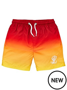 illusive-london-boys-sunrise-swim-shorts-red
