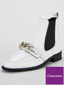 office-arcade-chain-boot-white