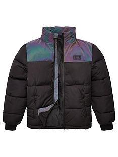 rascal-childrens-crystal-padded-jacket-black