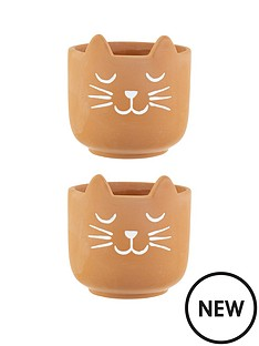 sass-belle-set-2-cats-whiskers-terracotta-planters