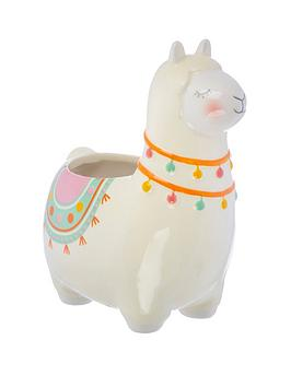 sass-belle-llama-llama-planter
