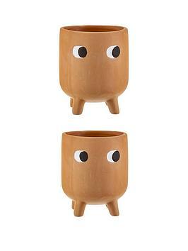 sass-belle-set-of-2-little-leggy-terracotta-planters