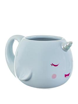 Sass & Belle Sass & Belle Alma Narwhal Mug Picture
