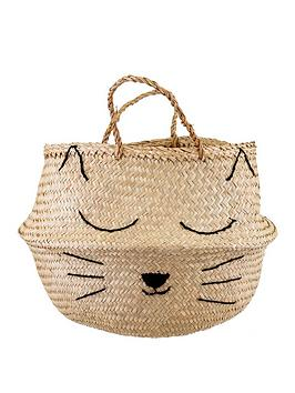 Sass & Belle Sass & Belle Cat Whiskers Storage Basket Picture