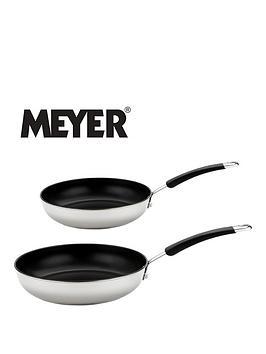 Meyer Meyer Set Of 2 Aluminium Frying Pans - White Picture