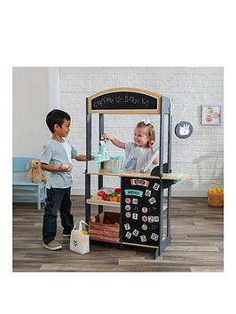 Kidkraft Kidkraft Let'S Pretend Shopkeeper Stand Picture