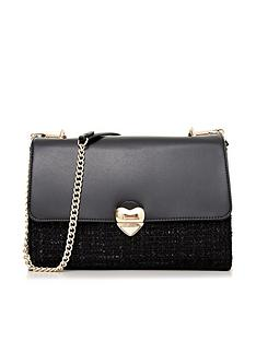 valentino-by-mario-valentino-guitar-heart-tweed-shoulder-bag-black