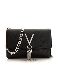 valentino-by-mario-valentino-divina-tassel-fold-over-cross-body-bag-black