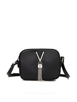 valentino-by-mario-valentino-divina-tassel-trim-cross-body-bag-black