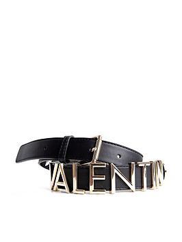 Valentino by Mario Valentino Valentino By Mario Valentino Thick Logo Belt  ... Picture