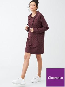 dkny-sport-small-twill-logo-print-sneaker-dress-burgundy