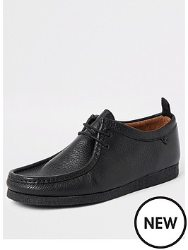 river-island-black-leather-lace-up-shoes