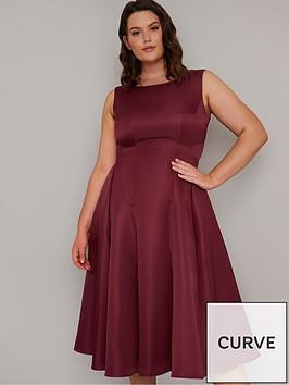 chi-chi-london-curve-guli-midi-dress-burgundy