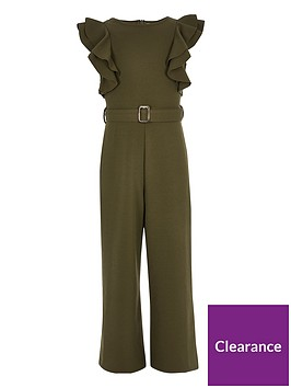 river-island-girls-belted-frill-jumpsuit-khaki