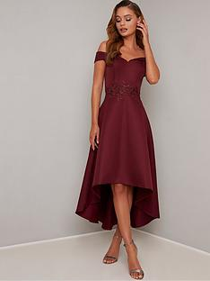 chi-chi-london-simera-bardot-high-low-dress-burgundy