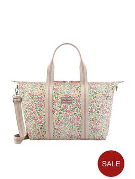 cath-kidston-hedge-rose-foldaway-overnight-bag