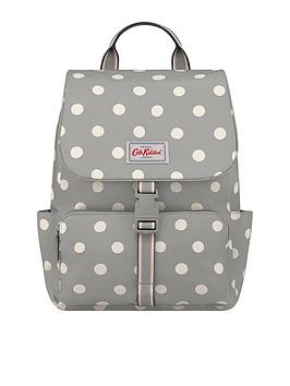 cath-kidston-buckle-backpack-button-spot-grey