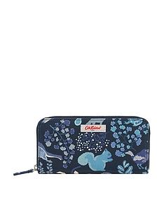 cath-kidston-continental-magical-memories-zip-wallet-purse-navy