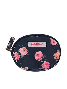 cath-kidston-wimbourne-rose-oval-coin-purse-navy