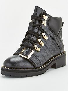 office-abundance-buckle-hiker-boot-ankle-boots-black
