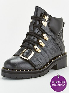 office-abundance-buckle-hiker-boot-ankle-boots-black
