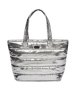 ugg-krystal-paddednbsptote-bag-metallic-silver