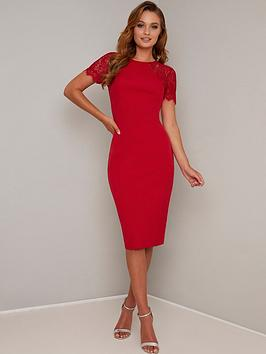 chi chi london Chi Chi London Mariala Dress - Red Picture