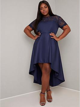 Chi Chi London Curve Chi Chi London Curve Jasper Dress - Navy Picture