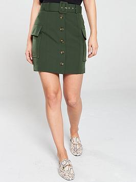 river-island-utility-mini-skirt--khaki