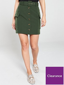 river-island-utility-mini-skirt--khaki