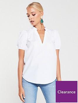 river-island-puff-sleeve-blouse-white