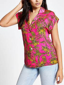 river-island-printed-utility-shirt-pink