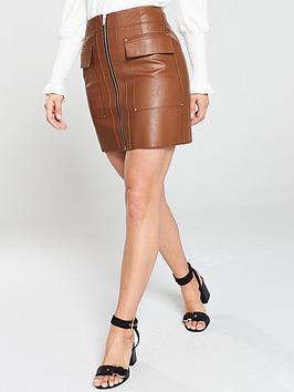 river-island-tan-biker-mini-skirt--tan