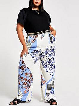 ri-plus-blue-print-wide-leg-trouser-blue