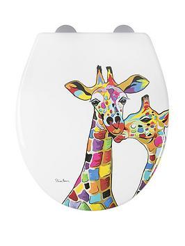 croydex-steven-brown-francie-and-josie-mczoo-toilet-seat