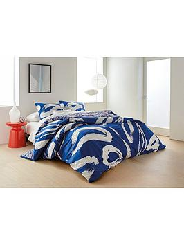 DKNY Dkny  Abstract Floral Duvet Cover Picture