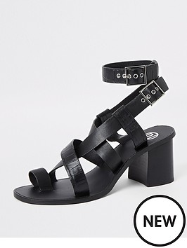 river-island-river-island-leather-toe-ring-block-heel-sandals-black