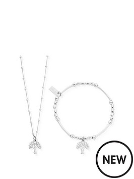 chlobo-sterling-silver-exclusive-tree-of-wisdom-necklace-and-bracelet-set