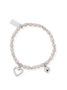 ChloBo Chlobo Childrens Bridal Sterling Silver Forever Love Bracelet 15Cm  ... Picture
