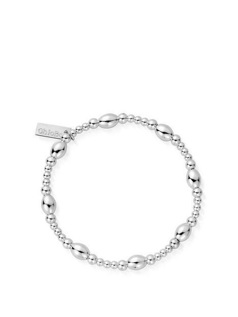 chlobo-sterling-silver-cute-oval-bracelet