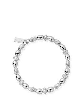 ChloBo Chlobo Sterling Silver Mini Oval Disc Bracelet Picture