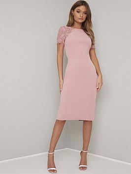 chi chi london Chi Chi London Shannon Dress - Pink Picture
