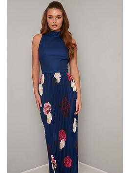 chi chi london Chi Chi London Sansa Dress - Navy Picture