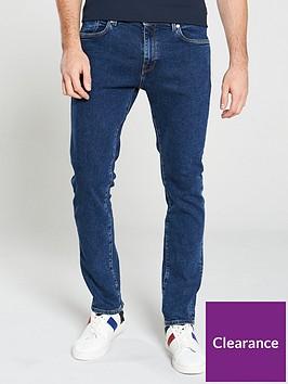 selected-homme-leon-slim-leg-jeans-blue-wash